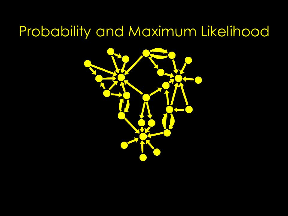 Probability and Maximum Likelihood