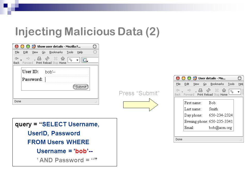 System Overview User-provided PQL queries Pointer analysis expressed in Datalog bddbddb Datalog solver Datalog Java bytecode Vulnerability warnings