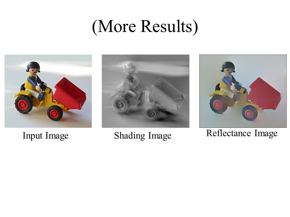 (More Results) Input ImageShading Image Reflectance Image