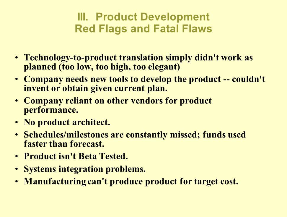 III. Product Development-2