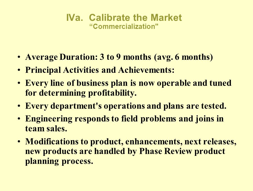 III. Product Development Red Flags and Fatal Flaws-2 Business Plan isn't updated, and reflects unrealistic break-even point. Key customers aren't iden