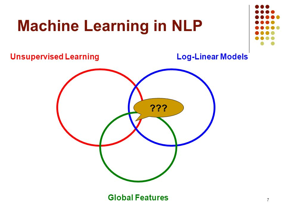 18 Why Log-Linear Models .