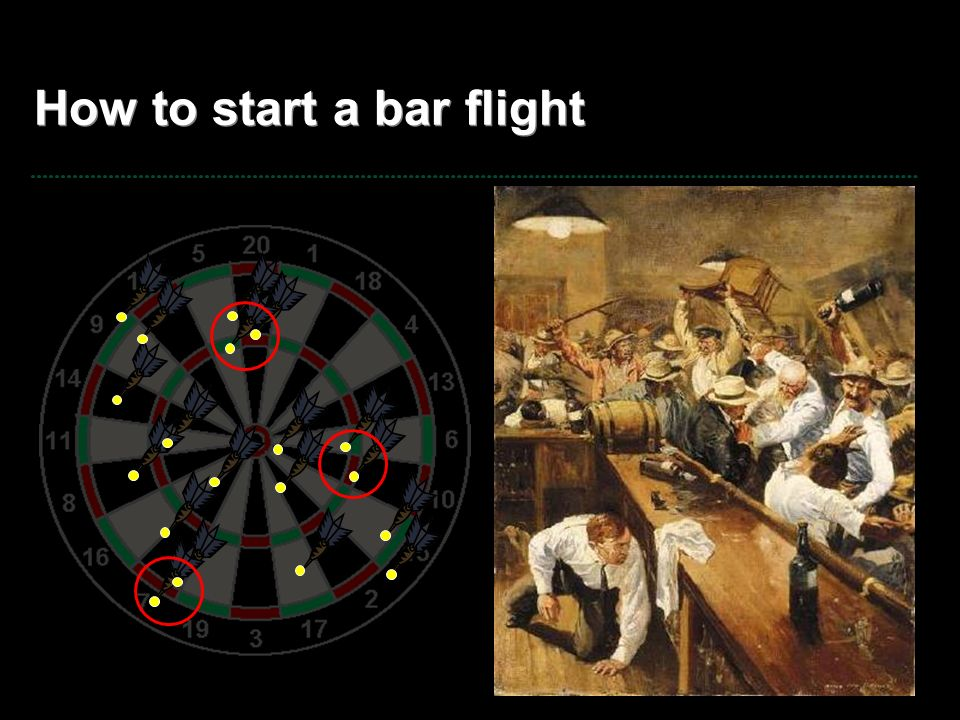 How to start a bar flight