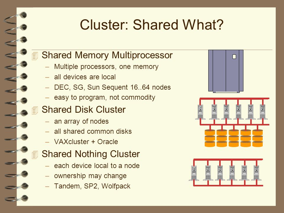Cluster: Shared What.