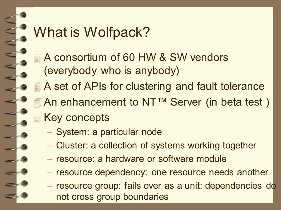 What is Wolfpack.