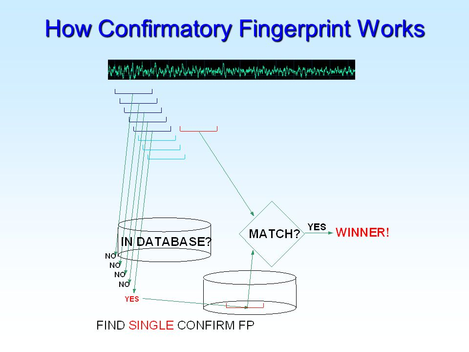 How Confirmatory Fingerprint Works