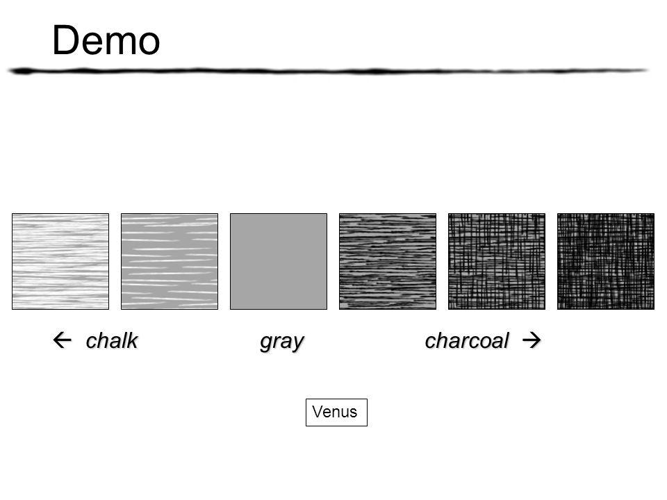 Demo Venus chalk gray charcoal chalk gray charcoal