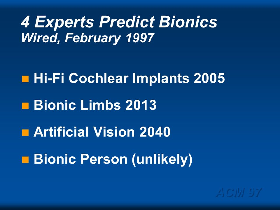 ACM 97 Medtronics Implanted Cardioplastic