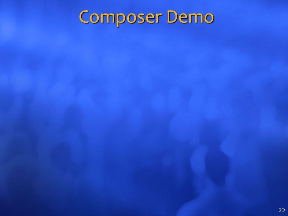 Composer Demo 22