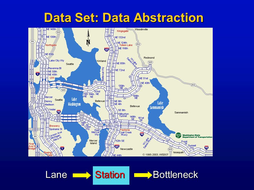Data Set: Data Abstraction Lane Station Bottleneck