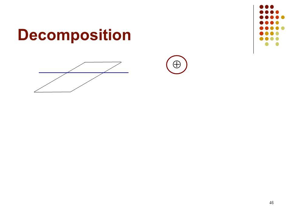 46 Decomposition