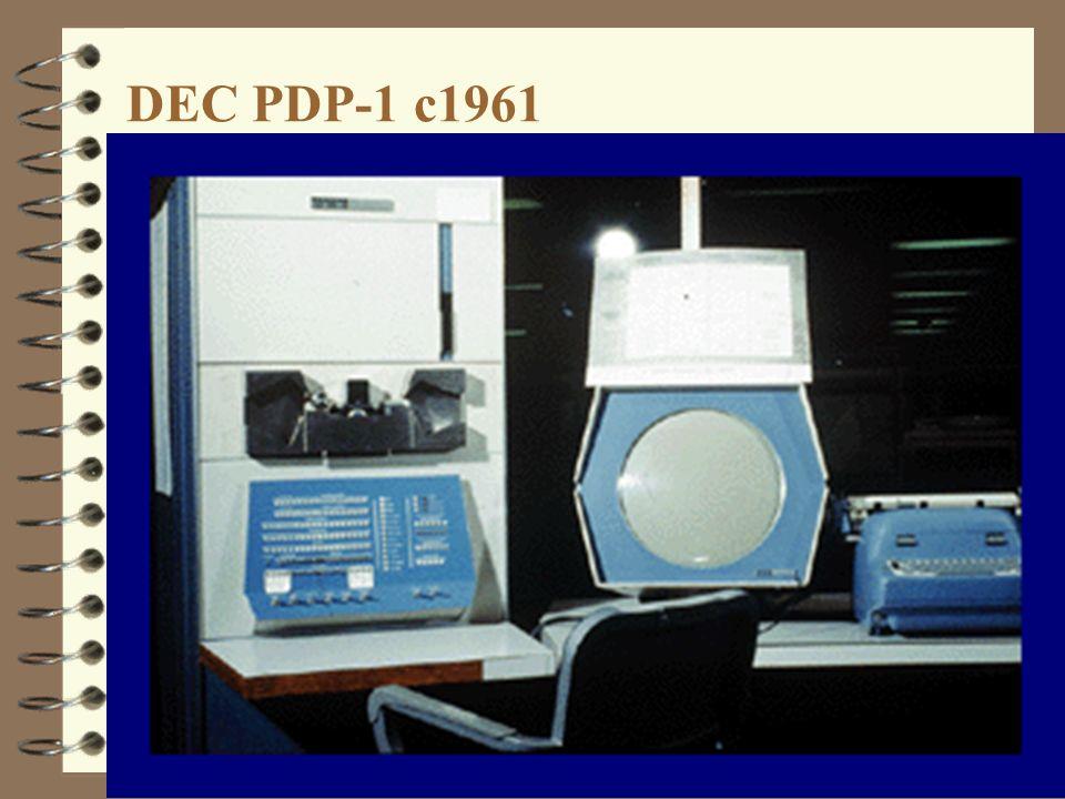 DEC PDP-1 c1961