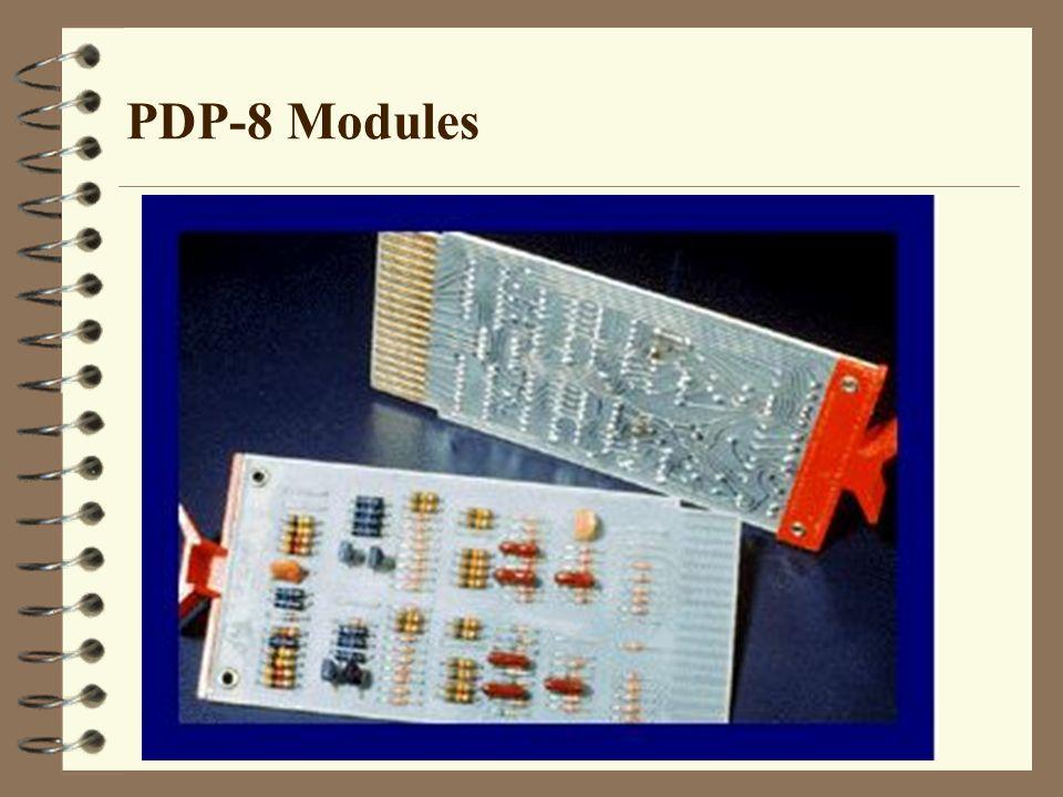 PDP-8 Modules