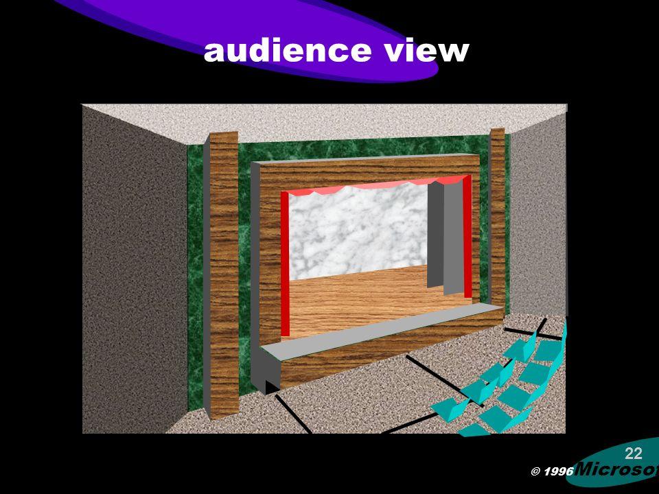 © 1996 Microsoft 21 answer ABCDEFM 10:24:13
