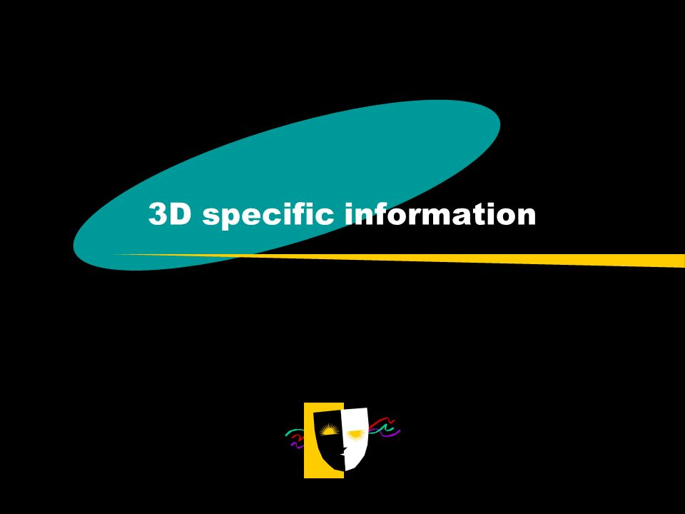 3D specific information