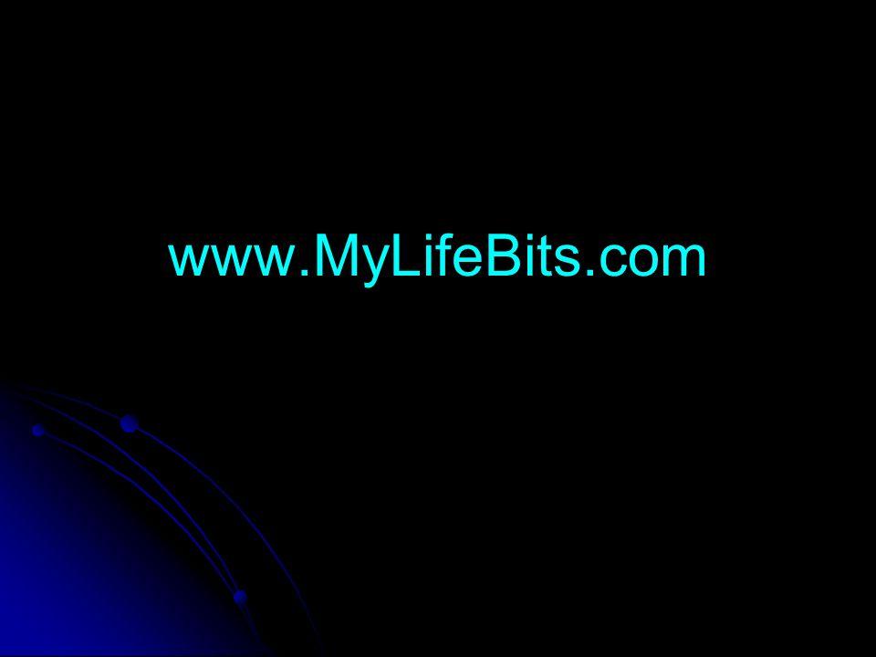 www.MyLifeBits.com