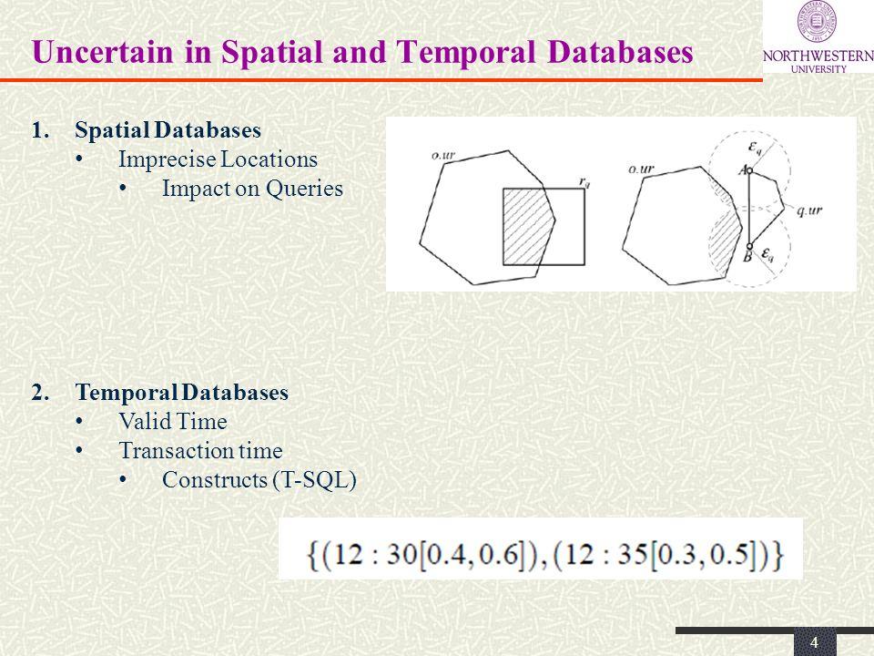 Modeling Uncertain Trajectories 5 Location Uncertainty Models Various Sources Imprecision (GPS; Sensors) Quest for data reduction