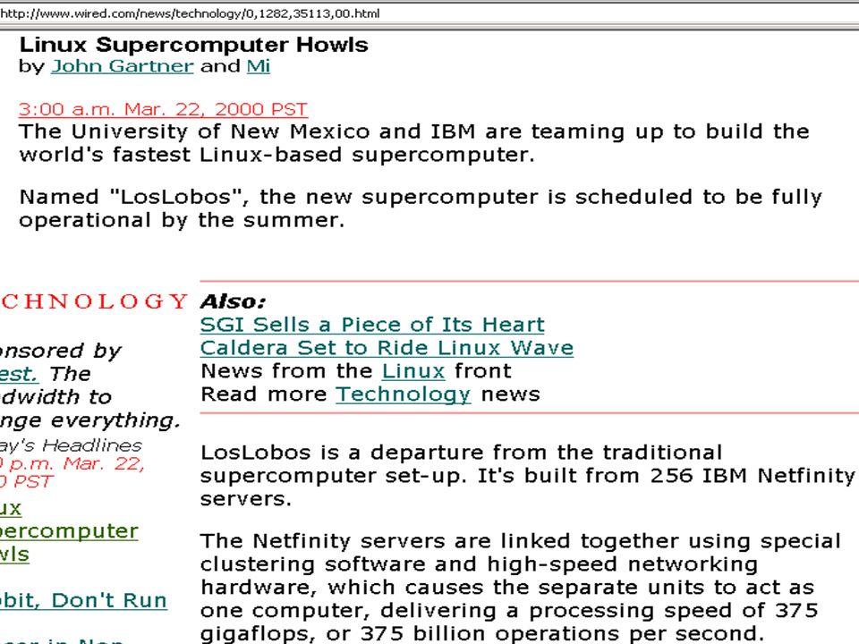 Copyright Gordon Bell & Jim Gray PC+ Linux super howls