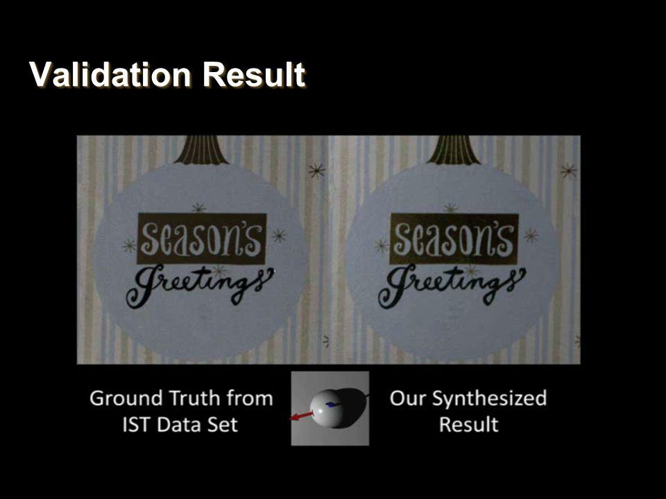 Validation Result