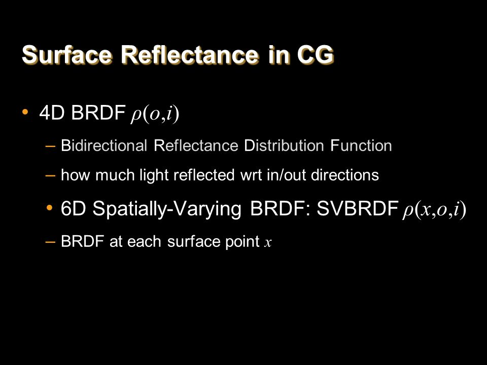 Overall Pipeline BRDF Slice Capture Partial NDF Recovery Microfacet Synthesis