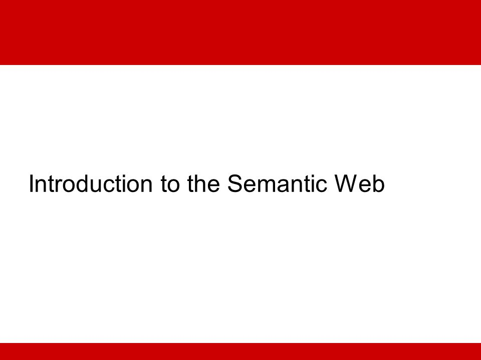 Conclusion Many Semantic Web solutions are being explored within the health care and life sciences community Lilly is seeing tangible benefits in multiple projects from Semantic Web Semantic Web provides a flexible framework for data integration Incremental adoption of technology Flexibility to integrate unanticipated data sets Link existing silos together Lilly is setting up open collaborations in this space Try out LSG