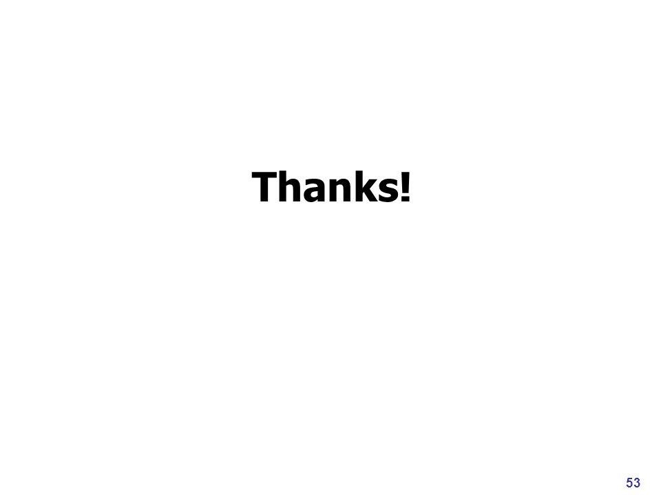 Thanks! 53