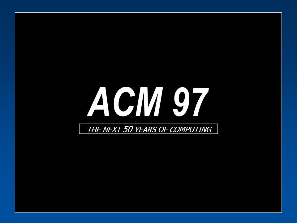 ACM 97 Synthetic Actors