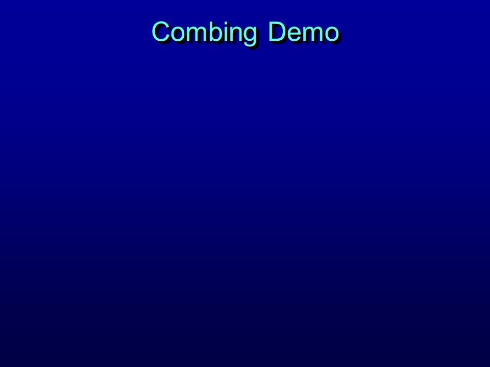 Combing Demo
