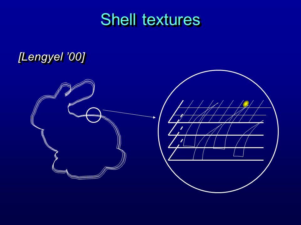 Shell textures [Lengyel 00]