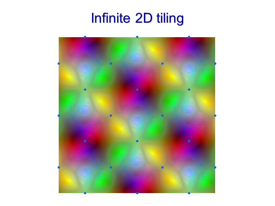 Infinite 2D tiling