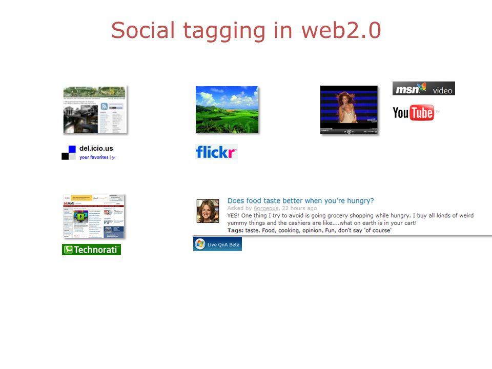 Social tagging in web2.0