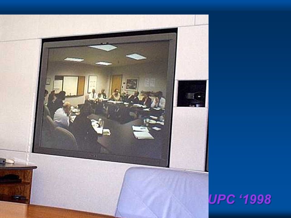NUPC 1998 Conference Rooms with Teleconferencing
