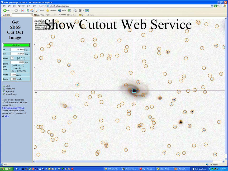21 Show Cutout Web Service