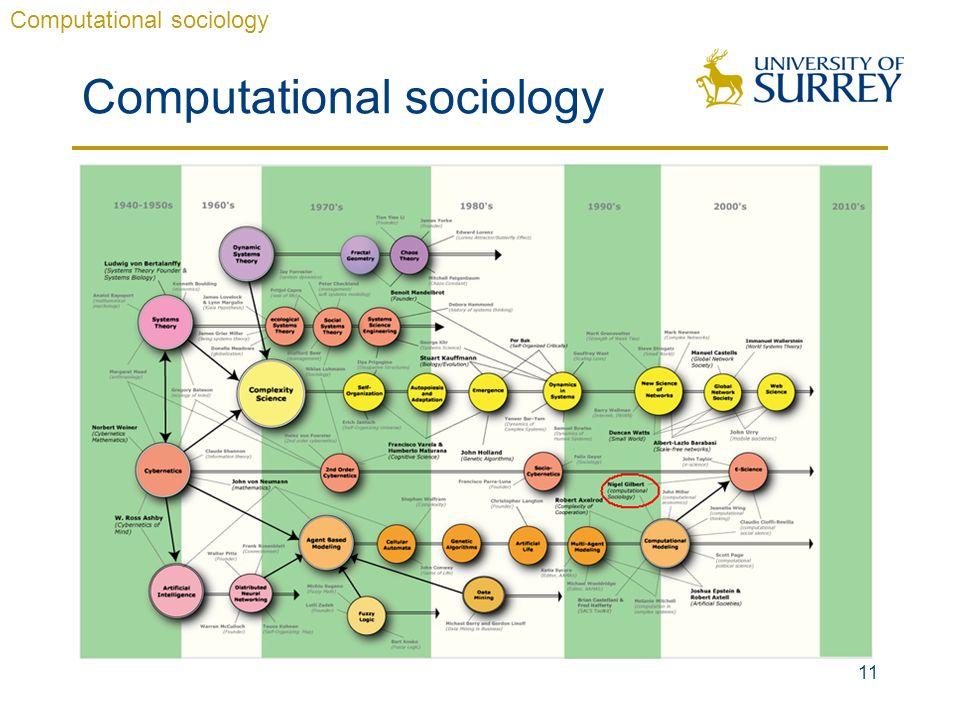11 Computational sociology