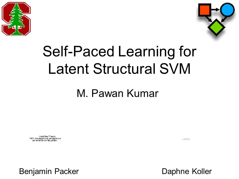 Self-Paced Learning for Latent Structural SVM Daphne KollerBenjamin Packer M. Pawan Kumar