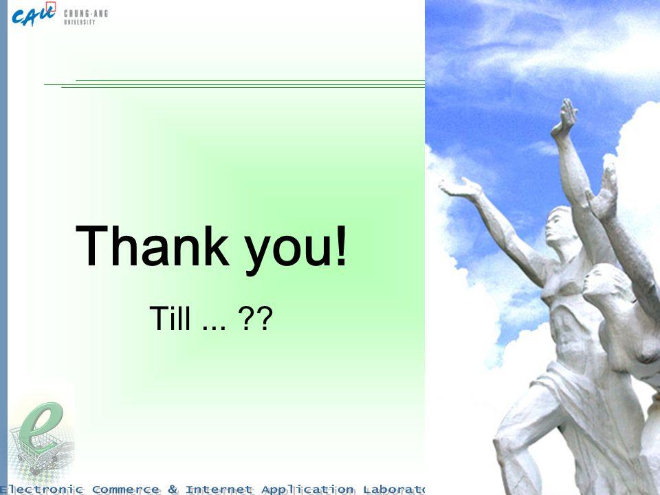 32 Thank you! Till...