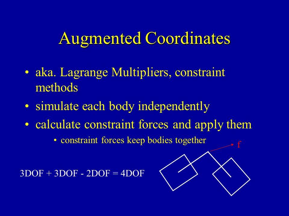 Augmented Coordinates aka.