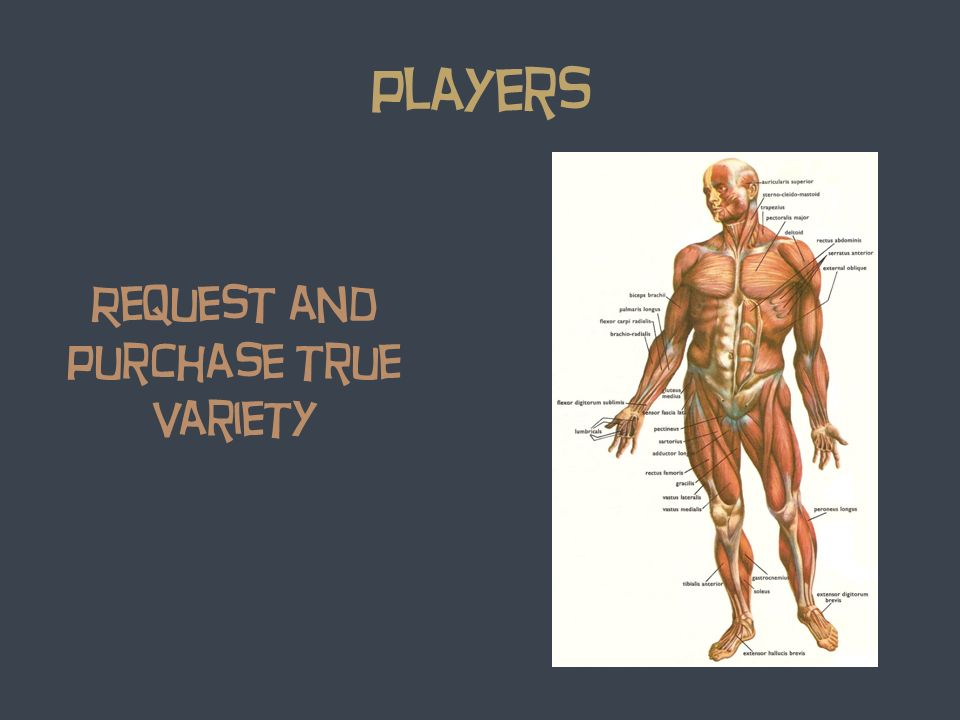 players Request and purchase true variety