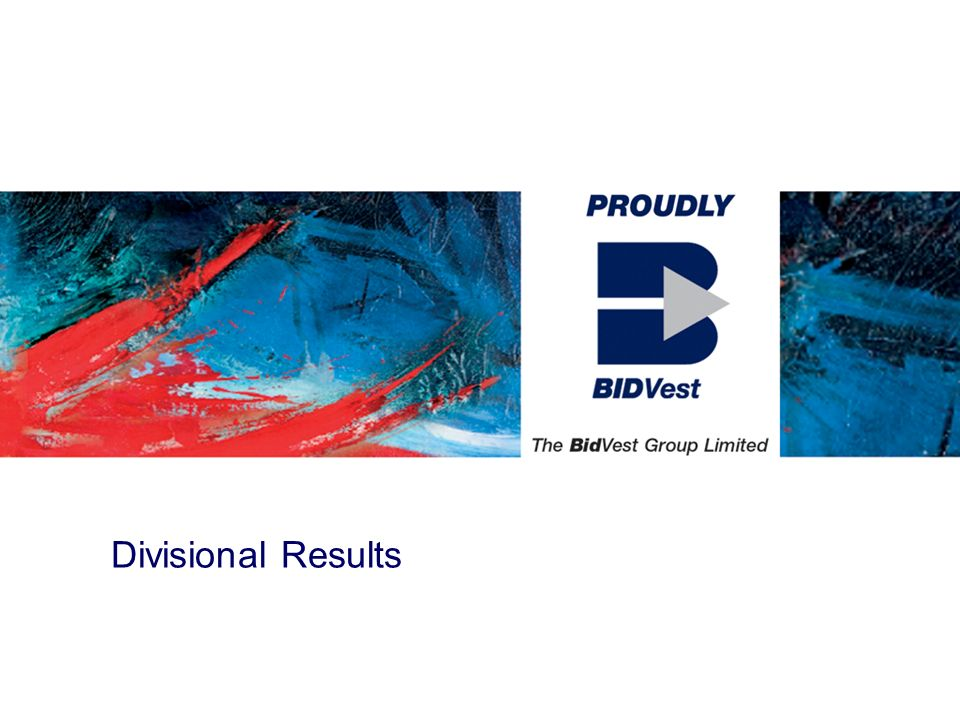 Divisional Results