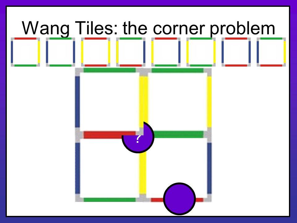 Wang Tiles: the corner problem ?