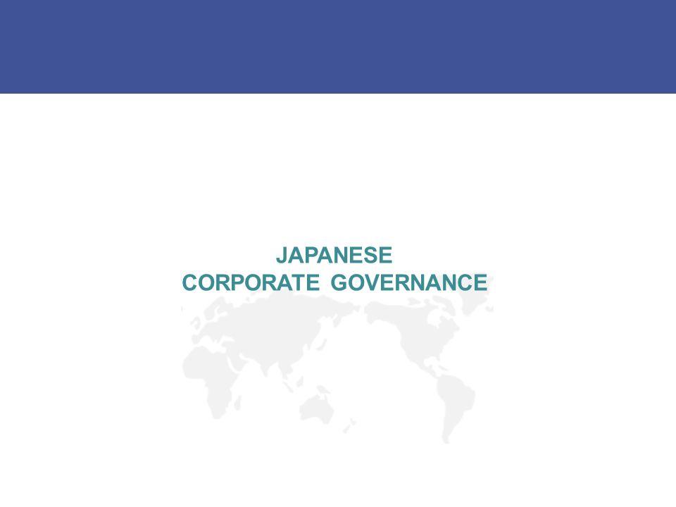 JAPANESE CORPORATE GOVERNANCE