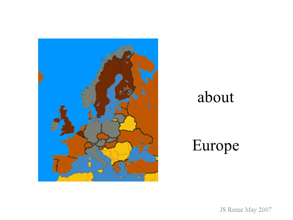 about Europe