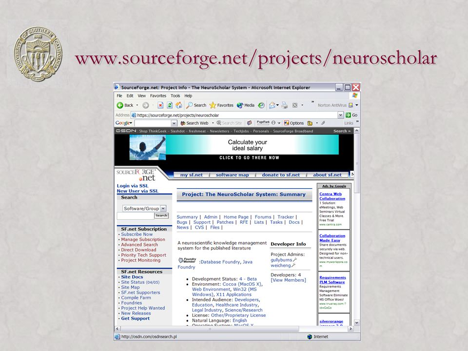 www.sourceforge.net/projects/neuroscholar