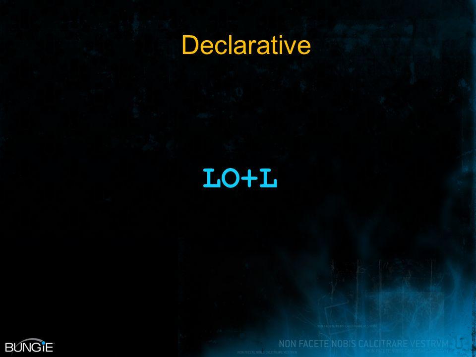 Declarative LO+L