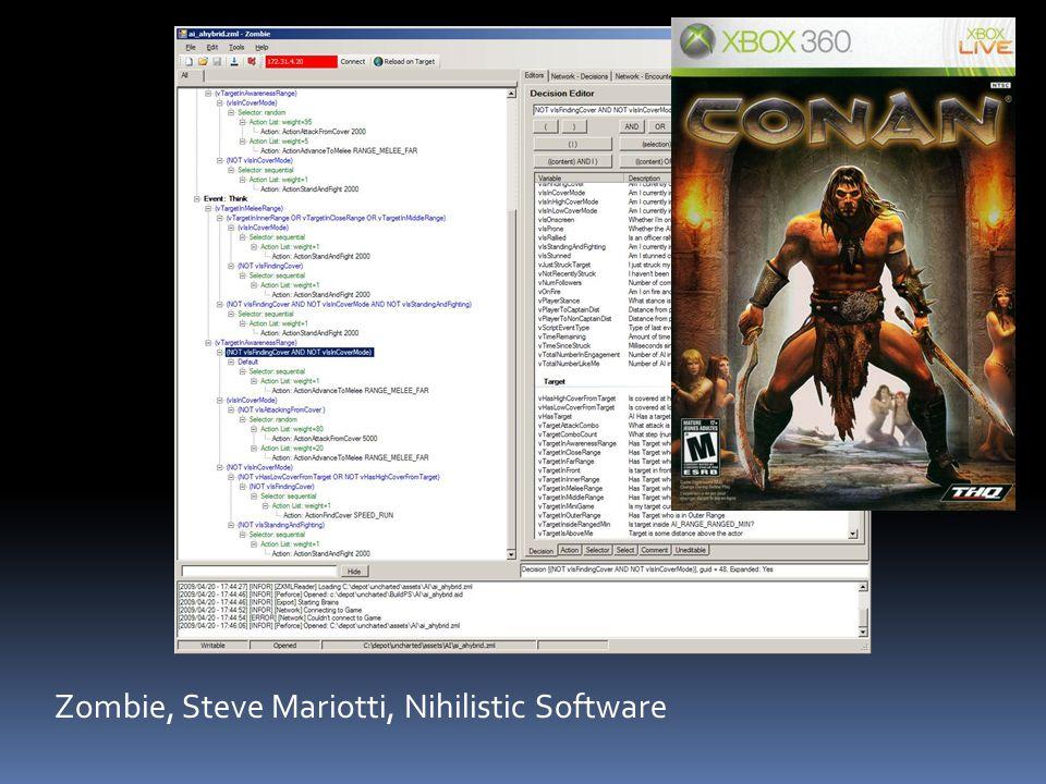 Zombie, Steve Mariotti, Nihilistic Software