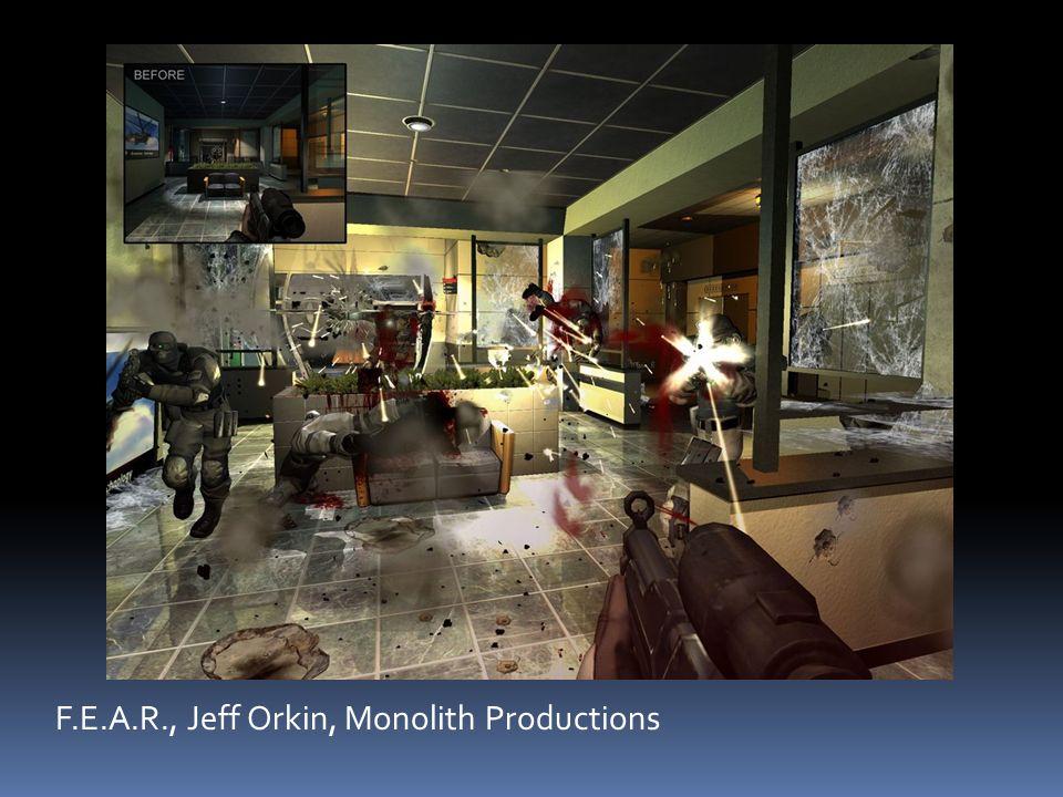 F.E.A.R., Jeff Orkin, Monolith Productions