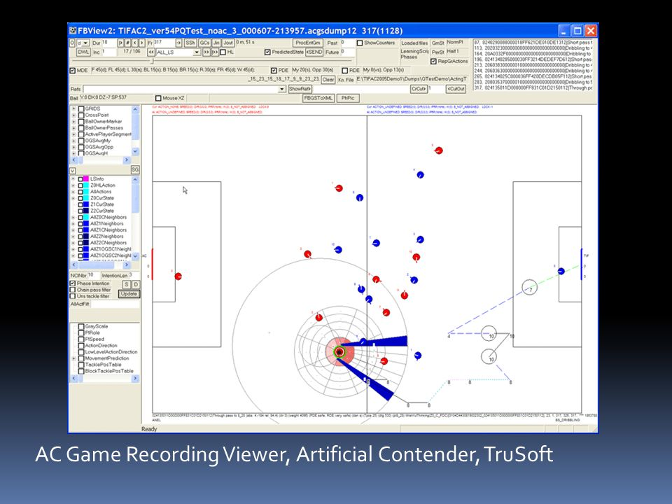 AC Game Recording Viewer, Artificial Contender, TruSoft