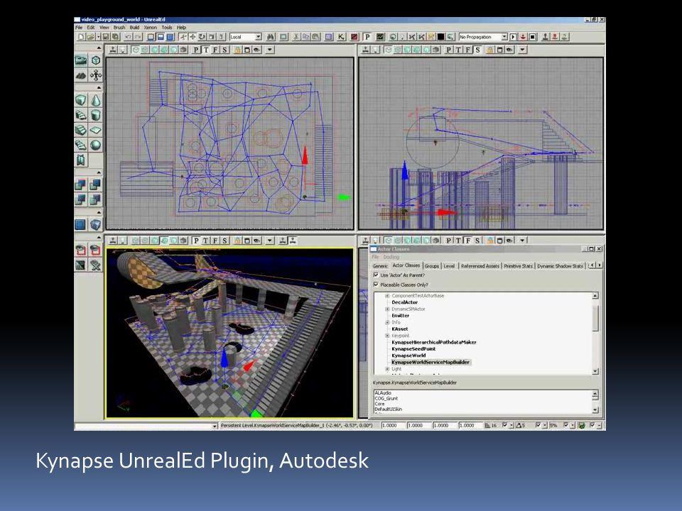 Kynapse UnrealEd Plugin, Autodesk