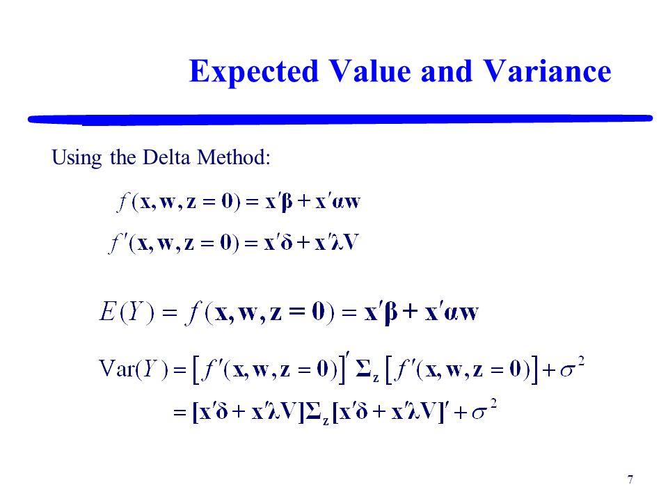 6 Mixture-Process-Noise Model Mixture Componentsx i i = 1, 2, …, q Controllable Process Variablesw p p = 1, 2, …, c Noise Variablesz t t = 1, 2, …, n