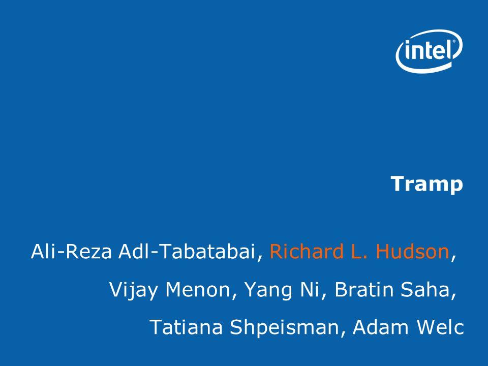 Tramp Ali-Reza Adl-Tabatabai, Richard L.
